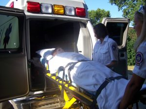 Patient-Being-Loaded-into-Ambulance